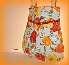 Veľké tašky - Farebné maky s červenou bodkou - 2695537
