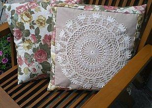 Úžitkový textil - 2 x vankúš ihned k odberu - 2700834
