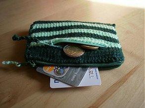 Peňaženky - Peňaženka - zelená - 2704149
