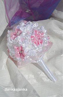 Kytice pre nevestu - Sladká ružová - 2707230