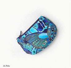 Peňaženky - Modrá peňaženka - 2712644