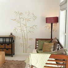 Dekorácie - Bambus - nálepka na stenu s prírodným motívom - 2713153