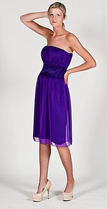 Šaty - Šifónové šaty so širokým saténovým pásom rôzne farby - 2722241