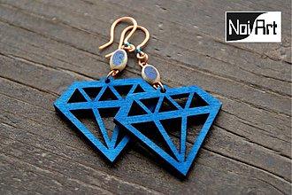 Náušnice - Diamant - 272637