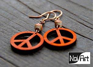 Náušnice - Peace - 272639