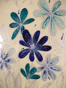 Obrazy - Obrázok s kvietočkami 16,5cm x 22,5cm - 2734368