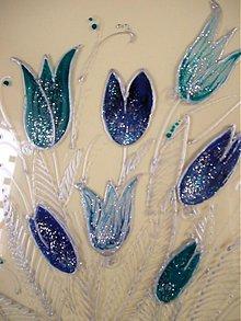 Obrazy - Obrázok s tulipánmi 16,5cm x 22,5cm - 2734399
