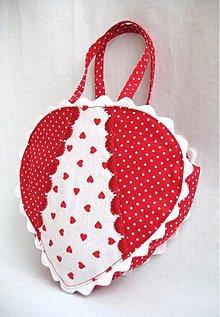 Detské tašky - ♥ Srdce pre mamku ♥ - 2739324
