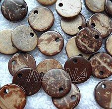 Korálky - Kokos 10mm-1ks - 2742586