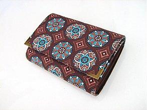 Peňaženky - Čokoládový kaleidoskop - až na 12 karet:-) - 2745139