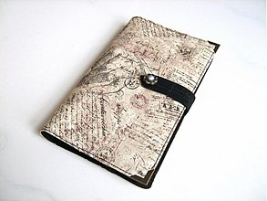 Peňaženky - Ze starých letopisů - vizitkář na 20 vizitek - 2745181