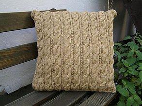 Úžitkový textil - pletený vankúš - 2746003