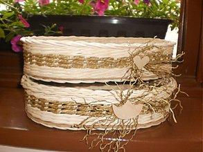 Košíky - Oválny košík s morskou trávou- Elhar - 2746100