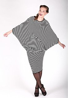 Tuniky - Pruhované šaty ZORA - 2746921