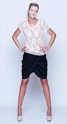 Sukne - Tulipánová sukńa s koženkovým pásom rôzne farby - 2747042