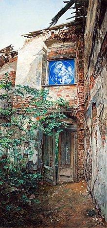 Obrazy - Reprodukcia - Modrá madona, dvere do neznáma - 2749366