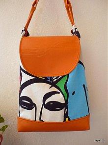 Veľké tašky - Oranžová - 2749989