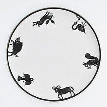 Nádoby - tanier veľký zver - 2750057