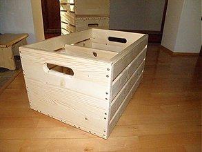 Nábytok - Debnička drevená
