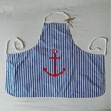 Detské oblečenie - Detská zásterka - námornícka - 2753387
