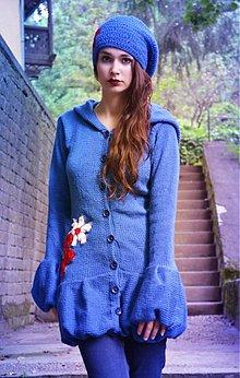 Svetre/Pulóvre - Modrý kabátik - 2754431