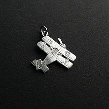 Šperky - prívesok lietadlo, dvojplošník - 2761573