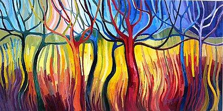 Obrazy - Tancujúce stromy 1 - 2761960