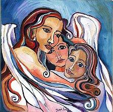 Obrazy - Objímajúci anjel - 2762029