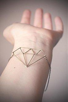 Náhrdelníky - Náhrdelník diamant - 2764119