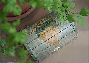 Krabičky - truhlica hrozno - skladom - 2764204