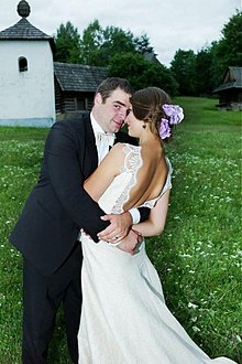 Šaty - Erica ala provance/svadobné - 2765200