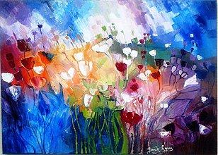 Obrazy - Malé kvetinky - 2765463