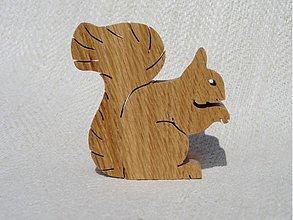 Hračky - Veverička sediaca - 2768404
