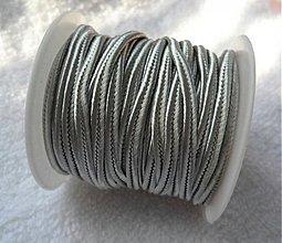Galantéria - Šujtáš 2,5mm-cca4m (18-šedá) - 2769507