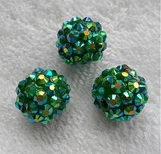 Korálky - Plast rondelka 14x13mm-1ks - 2770828