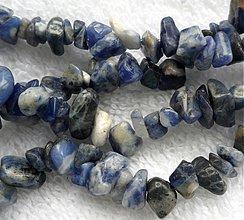 Minerály - Sodalit-zlomky-návlek 10cm - 2771561