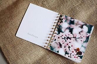 Papiernictvo - Mininotes s kvetmi - 2771662