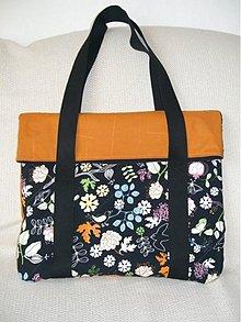 Veľké tašky - taška Nelly orange - 2772147