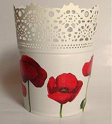 Nádoby - Kvetináč - maky - 2774795