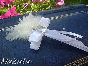 Pierka - elegantné svadobné pierko - 2776057