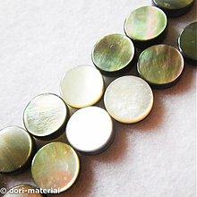 Minerály - dúhové perleťové placky, 10 mm - 2777877