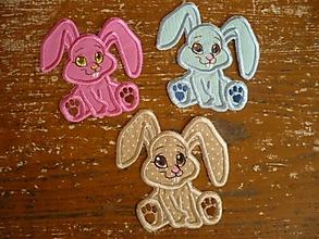 Detské doplnky - ušiačikovia (nášivka) - 2780719