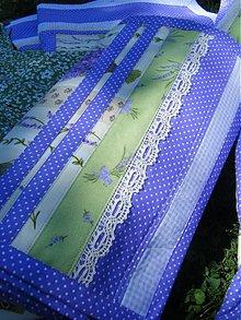 Úžitkový textil - Krajina levandule-štóla :) - 2786002