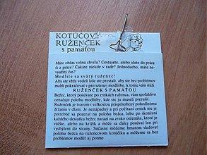 Nezaradené - Kotucovy ruzencek s pamatou - 2786032
