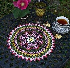 Úžitkový textil - Alexandra - háčkované prestieranie - 2787052