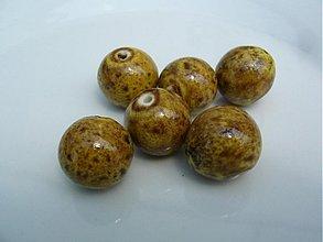 Korálky - Korálka keramická 16 mm - 2789786