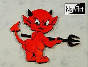 Magnetky - Zlý čertík - 279196
