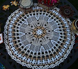 Úžitkový textil - Lina - háčkované prestieranie - 2794785
