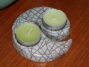 Svietidlá a sviečky - svietnik Yin and yang 2 - 2801257