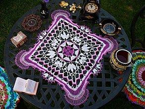Úžitkový textil - Nikola - háčkované prestieranie - 2801558
